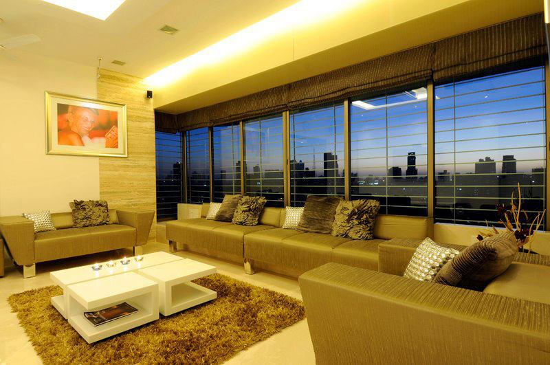 Contemporary Living Room by Jitesh Dhoka Contemporary | Interior Design Photos & Ideas