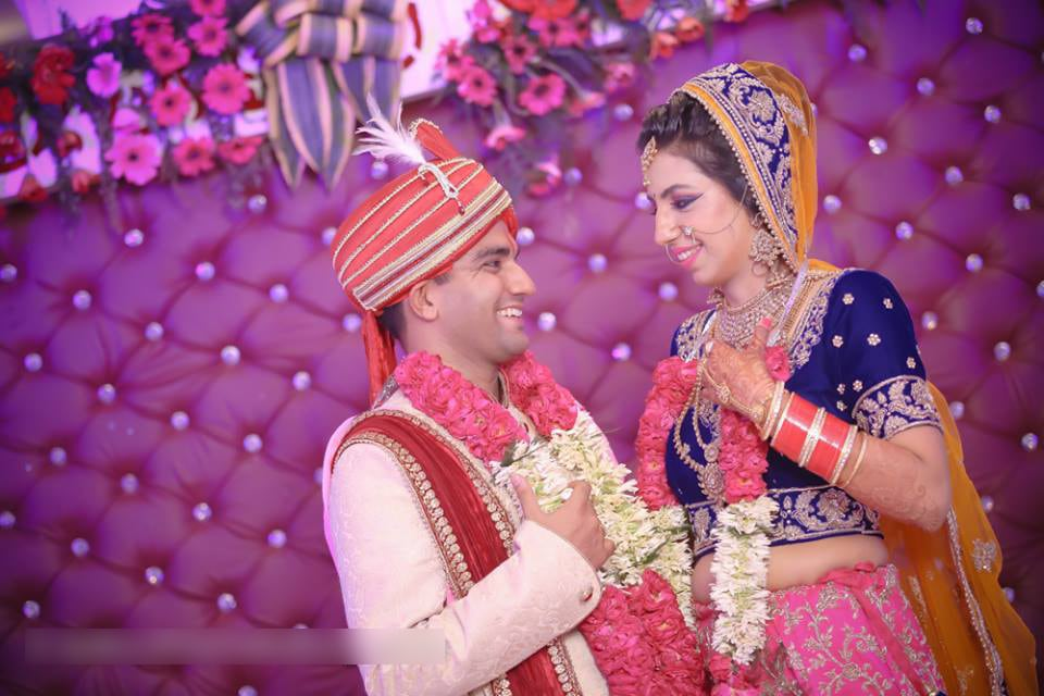 Wedding Day Bride And Groom Portrait by Mohit Wedding-photography Groom-wear-and-accessories | Weddings Photos & Ideas