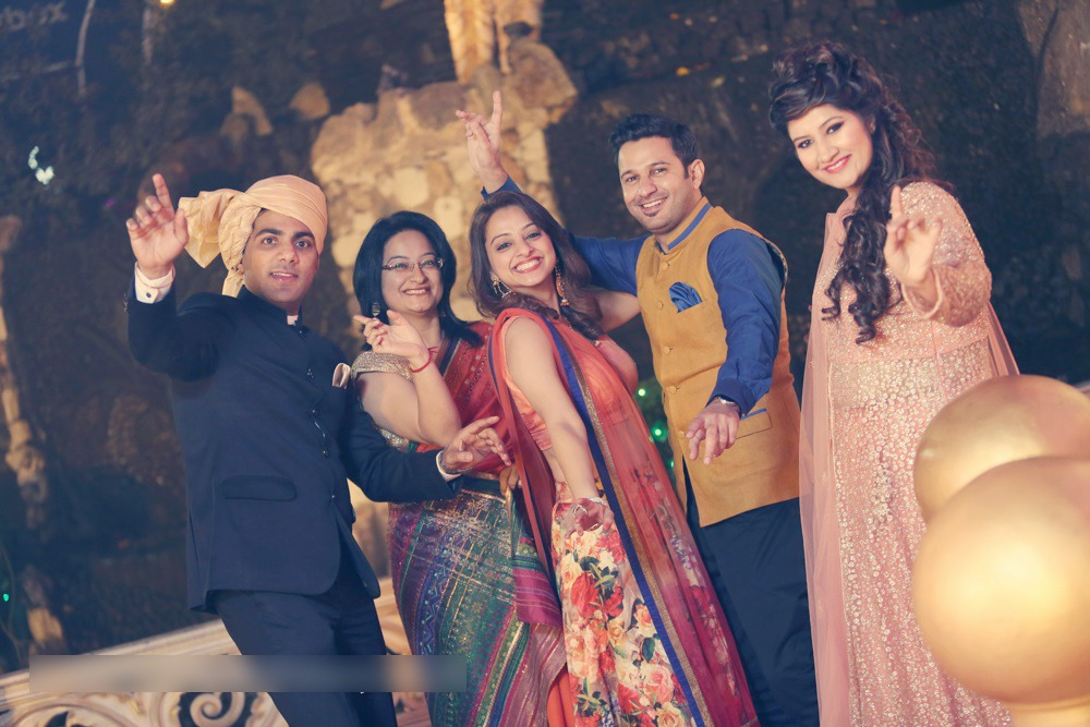 Cool Family Shot by Mohit Wedding-photography | Weddings Photos & Ideas