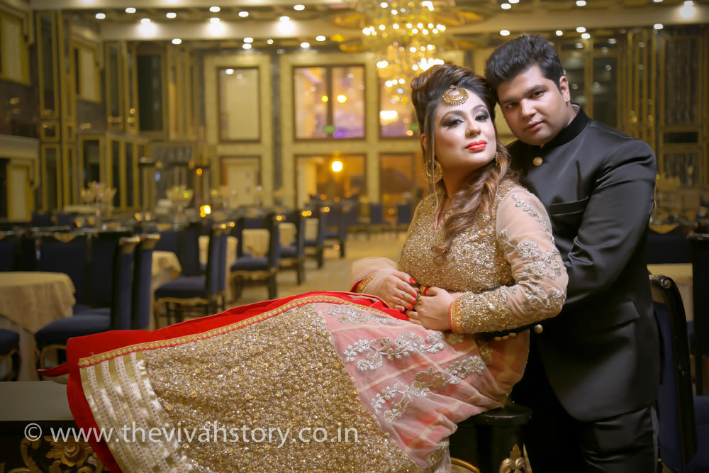 Graceful Couple Portrait by Mohit Wedding-photography | Weddings Photos & Ideas