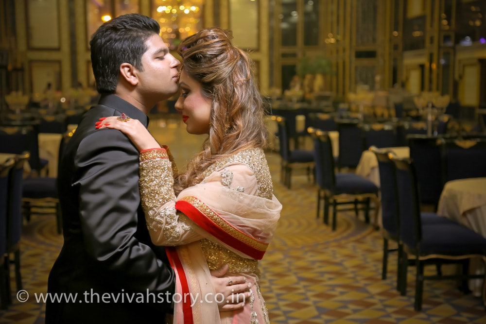 A Charismatic Couple Portrait On Reception Day by Mohit Wedding-photography | Weddings Photos & Ideas
