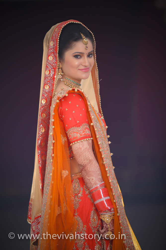 Light And Natural Makeup Of The Bride On Wedding DAy by Mohit Wedding-photography Bridal-makeup | Weddings Photos & Ideas