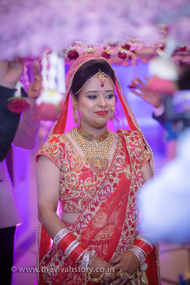 Bride Entering A New Phase In Life by Mohit Wedding-photography Bridal-makeup | Weddings Photos & Ideas