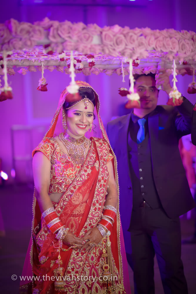 Gorgeous Bridal Portrait On Wedding Day by Mohit Wedding-photography | Weddings Photos & Ideas