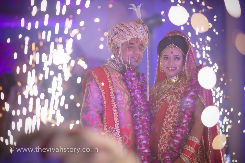 Stellar Couple Together On Wedding Day by Mohit Wedding-photography | Weddings Photos & Ideas
