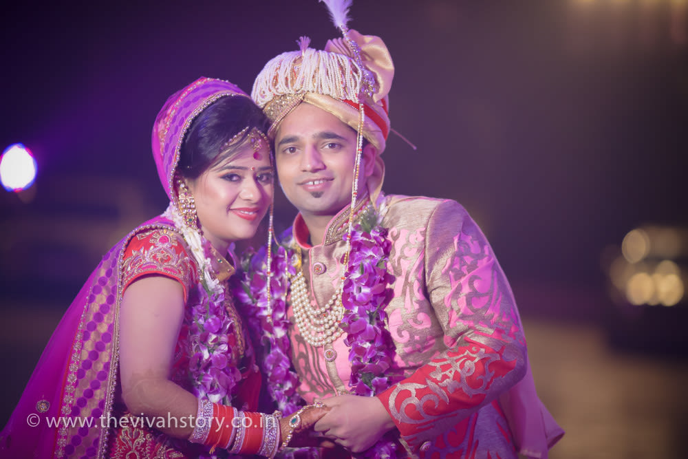 Bride And Groom Portrait On Their Special Day by Mohit Wedding-photography Bridal-jewellery-and-accessories Groom-wear-and-accessories | Weddings Photos & Ideas