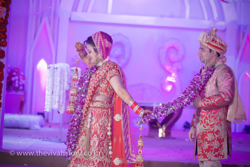 A Breathtaking Couple Portrait by Mohit Wedding-photography | Weddings Photos & Ideas