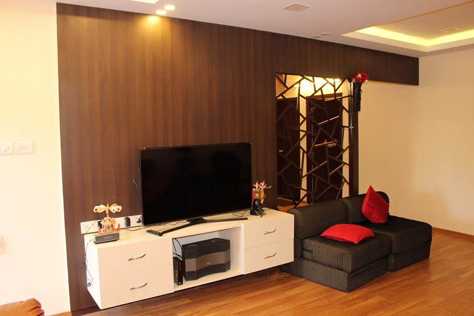 Small Living Room by Saravanan Living-room Contemporary | Interior Design Photos & Ideas
