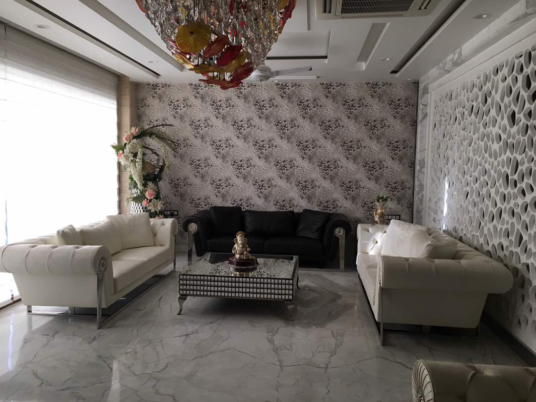 artistic living room by Aashna Jain