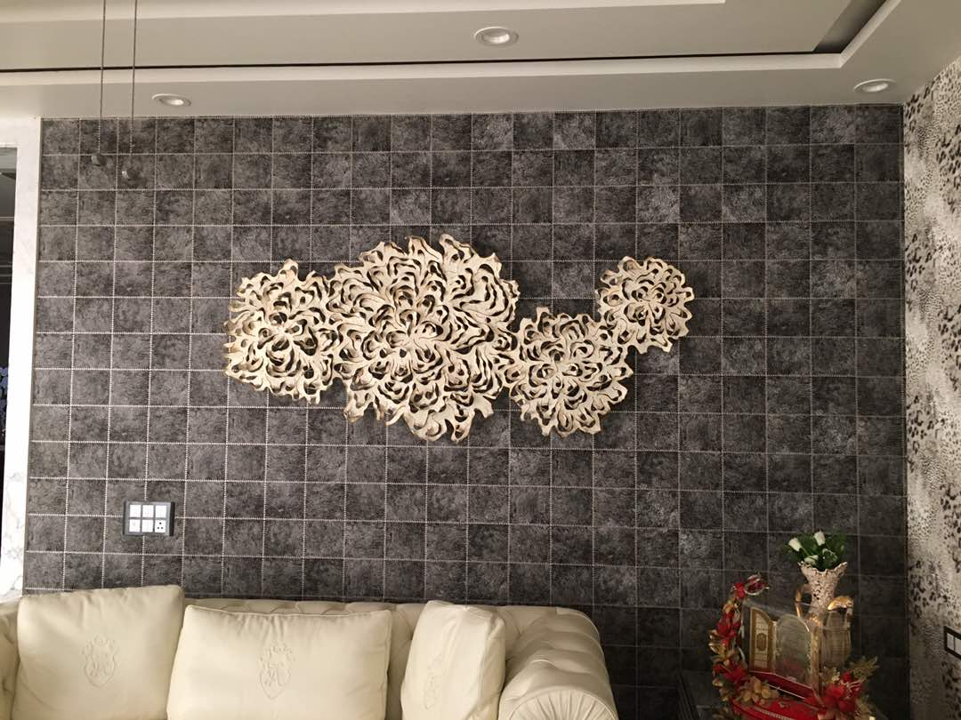 living master wall design by Aashna Jain