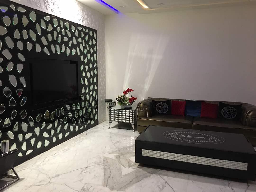 modular living room by Aashna Jain