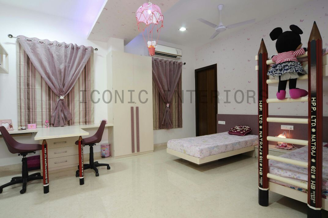 master bedroom for your kids by Sneha joshi Contemporary | Interior Design Photos & Ideas