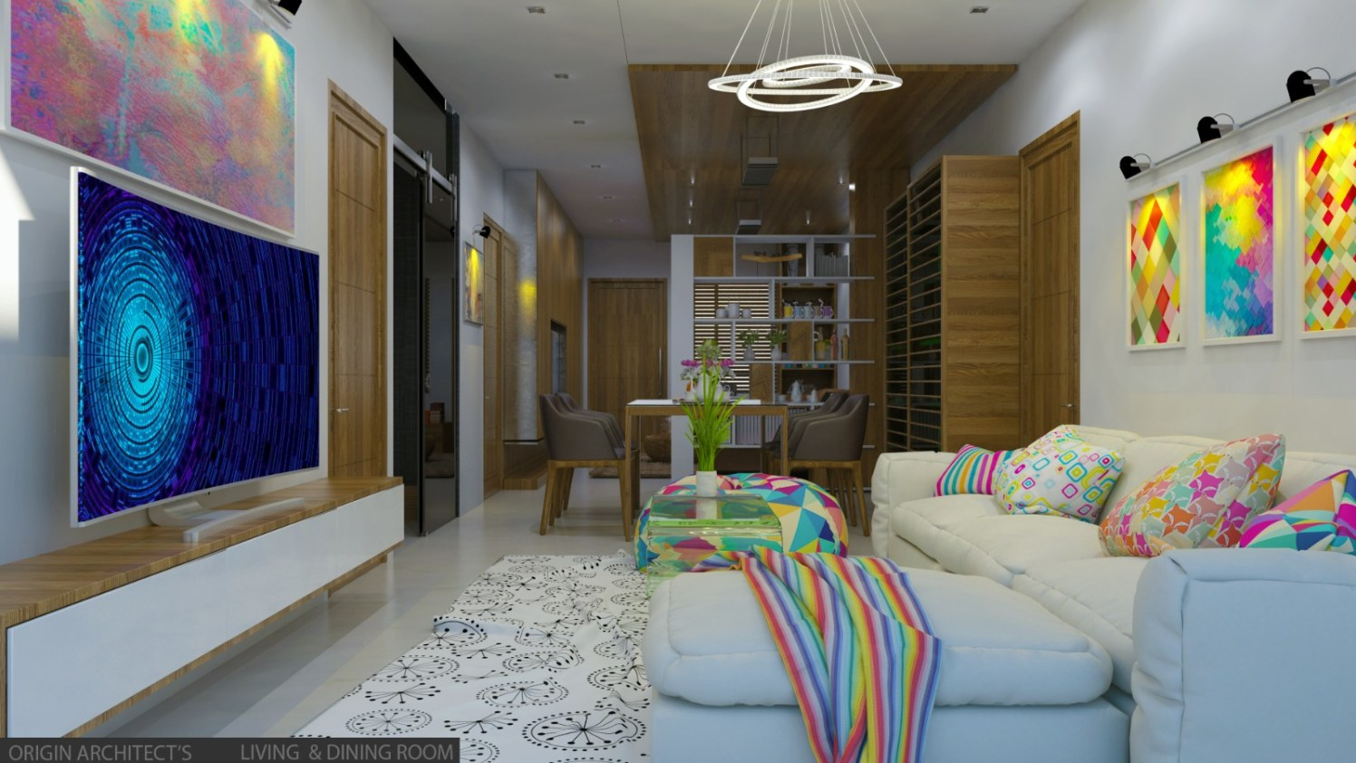 Modern style home by moghal ayesha