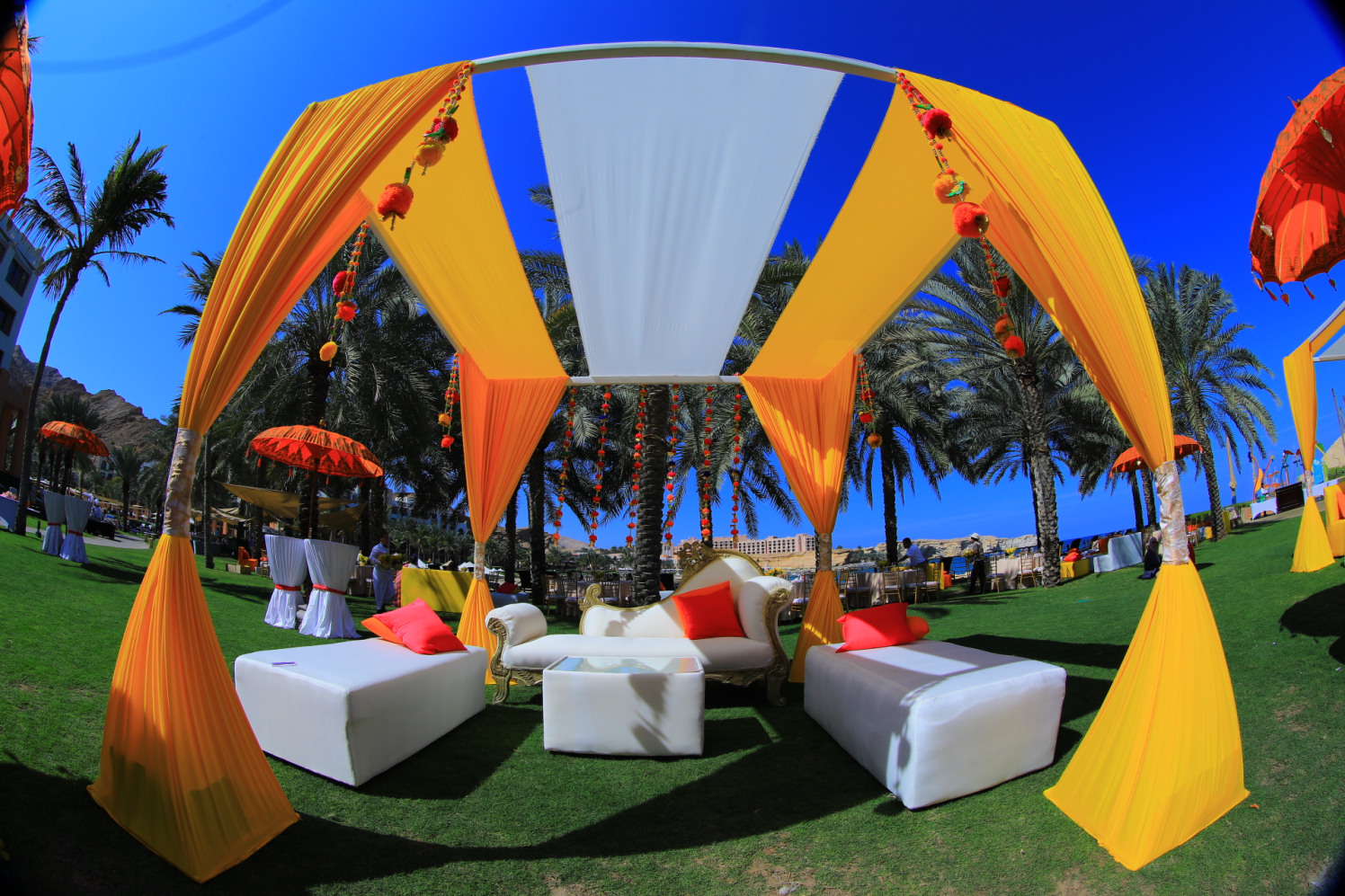Beautiful Tent Decor For Outdoor Wedding Ceremony by Amit Kumar Wedding-decor | Weddings Photos & Ideas