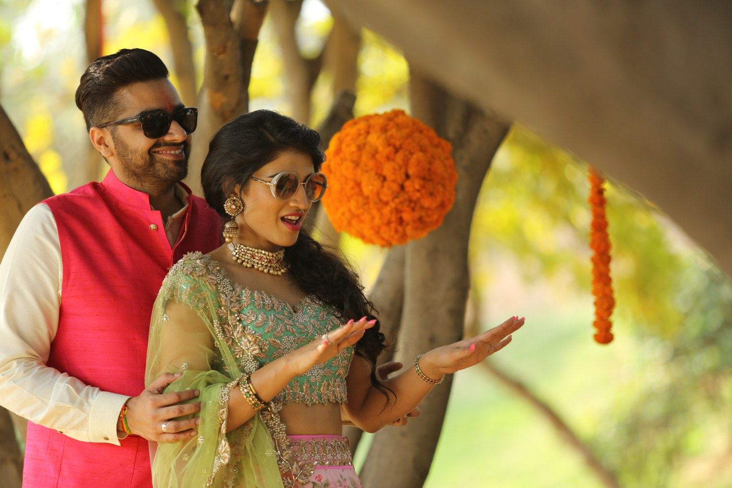 Perfect Marigold Floral Decor For Engagement Day by Amit Kumar Wedding-photography Wedding-decor | Weddings Photos & Ideas