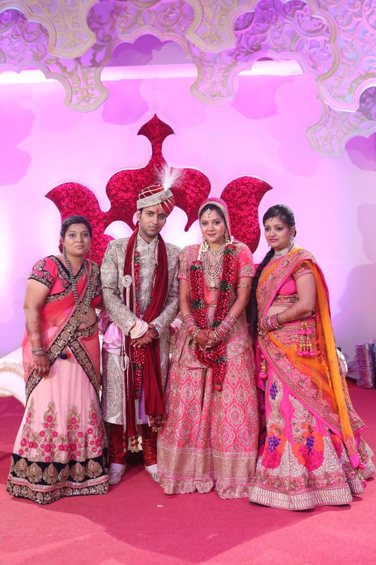 Family Shot by Amit Kumar Wedding-photography | Weddings Photos & Ideas