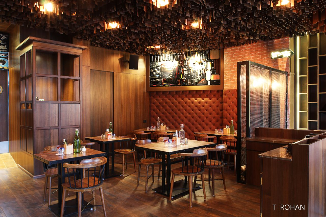 Dine in style by Rohan Tapkire Modern   Interior Design Photos & Ideas