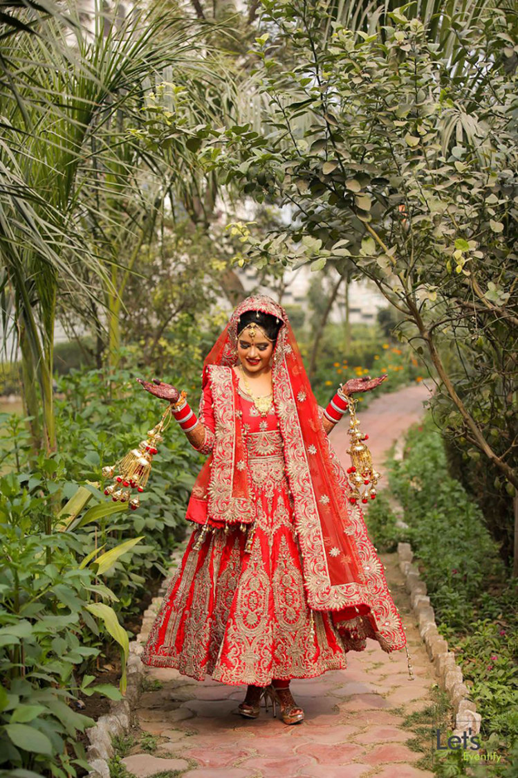 The Complete Punjabi Bride by Let's Eventify Wedding-photography Bridal-jewellery-and-accessories | Weddings Photos & Ideas
