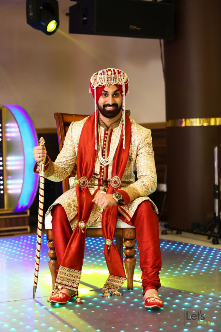 A Royal Groom by Let's Eventify Wedding-photography Groom-wear-and-accessories | Weddings Photos & Ideas