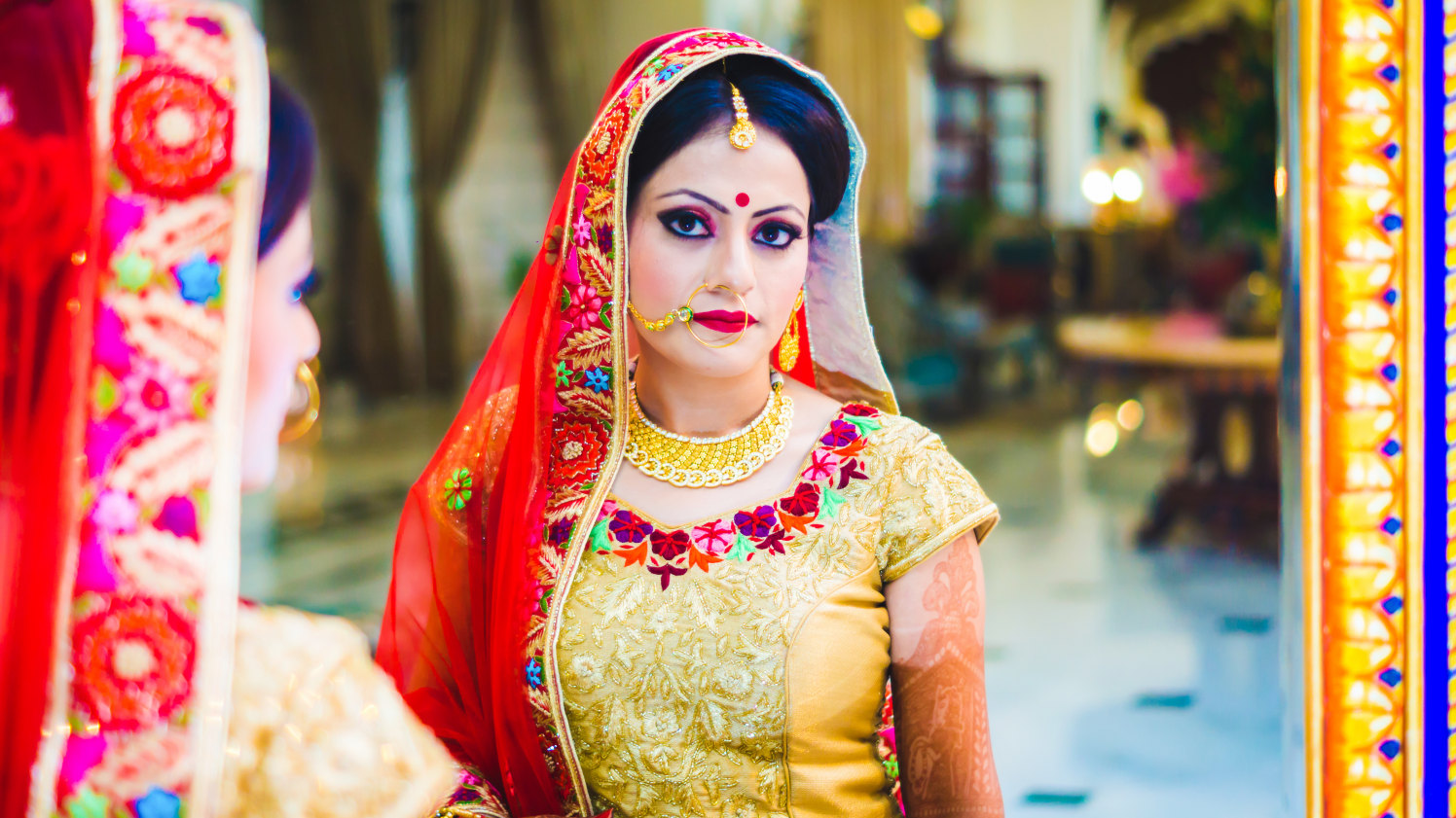 Vibrant Bride by Donil Arora Wedding-photography Bridal-jewellery-and-accessories Bridal-makeup | Weddings Photos & Ideas