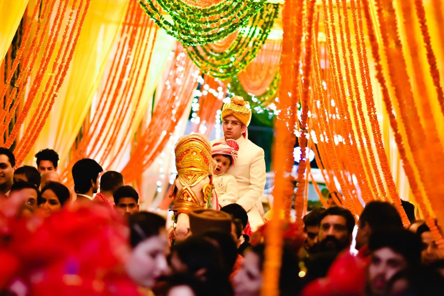 Groom's Grand Entry by Donil Arora Wedding-photography Groom-wear-and-accessories | Weddings Photos & Ideas