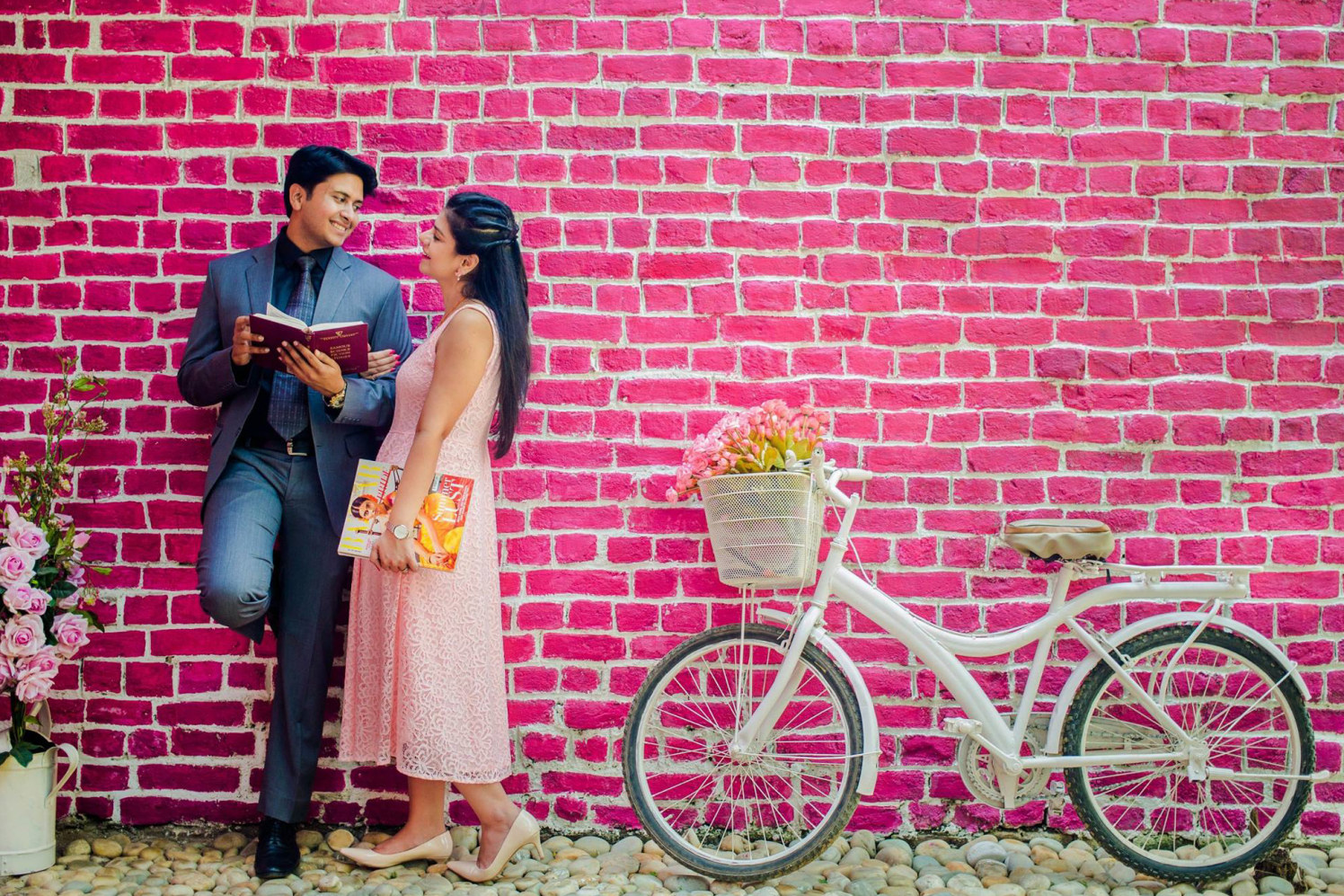 Bookworms In Love by Let's Eventify Wedding-photography | Weddings Photos & Ideas