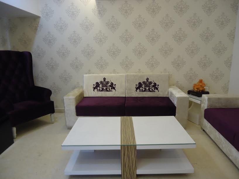 living room by Shally Gupta Mehta Contemporary | Interior Design Photos & Ideas