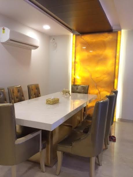 dining room by Shally Gupta Mehta Modern | Interior Design Photos & Ideas