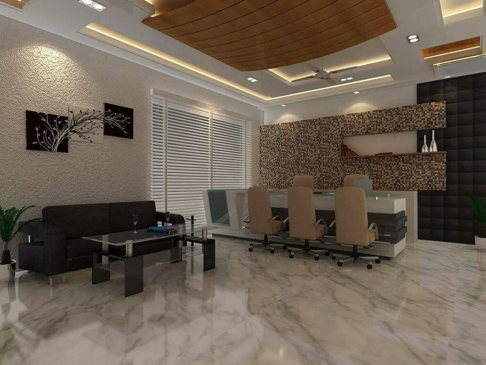 Reception Area by Atelier Interiors Contemporary | Interior Design Photos & Ideas