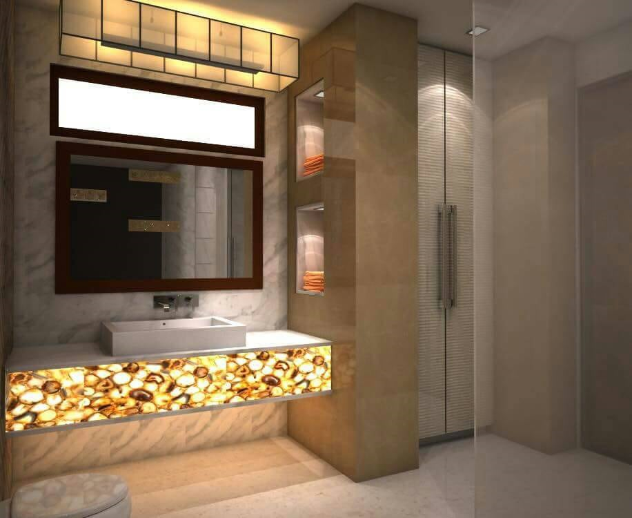 Zone Of Zen by Atelier Interiors Bathroom Modern | Interior Design Photos & Ideas