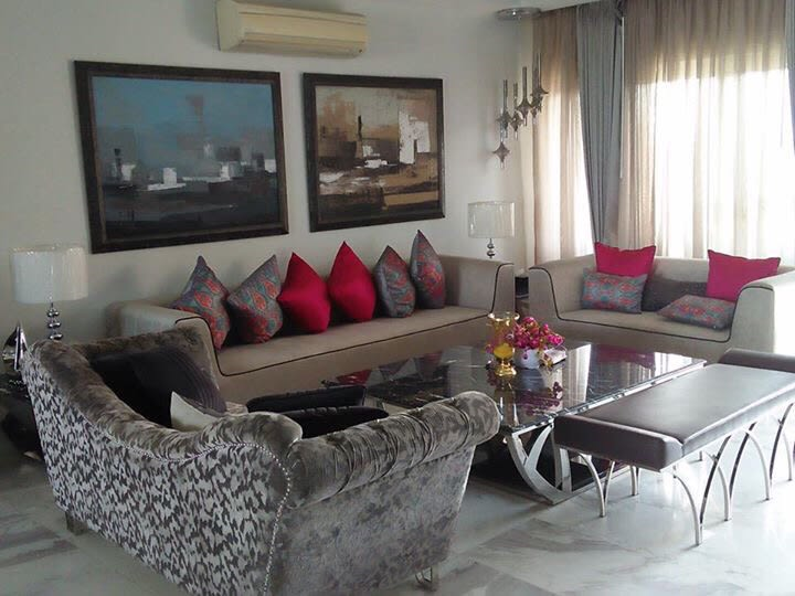 Contemporary Living Room by Radhika Mann Living-room Contemporary | Interior Design Photos & Ideas