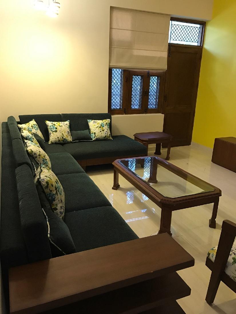 Living Room by Radhika Mann