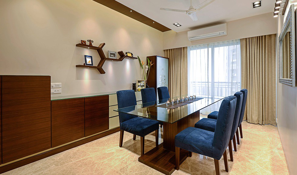 Modern Royal Dining Area by Sidd Sharma Dining-room Modern | Interior Design Photos & Ideas
