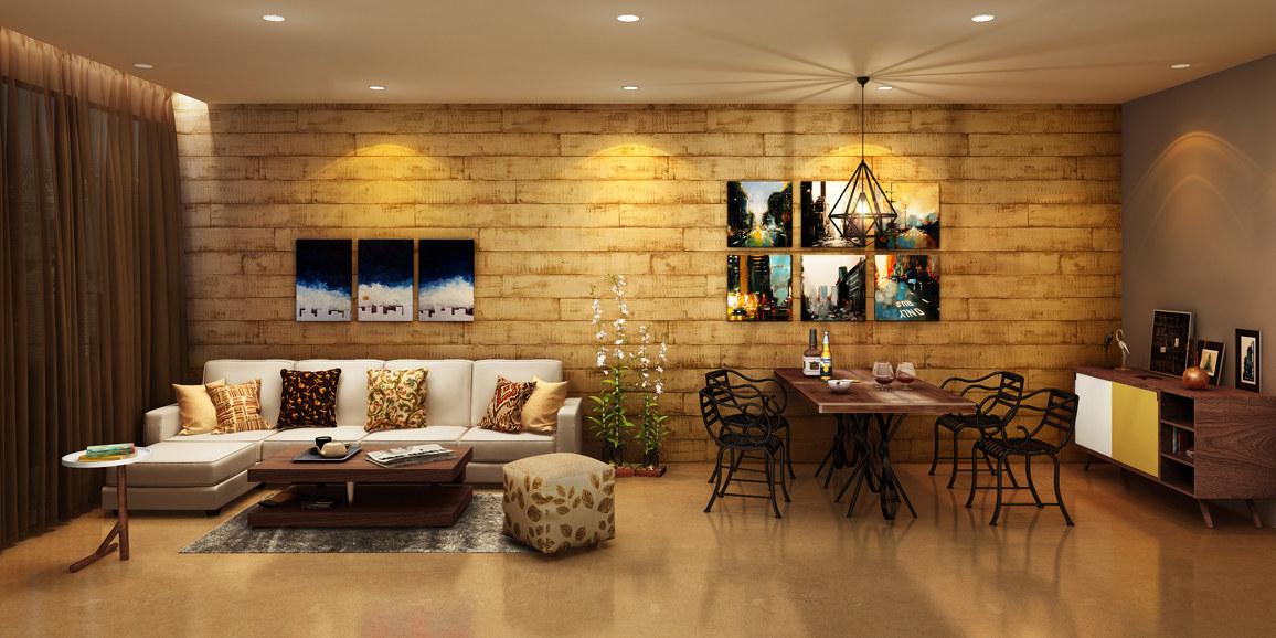 The Glittering Haven by Neeraja Gode Modern | Interior Design Photos & Ideas