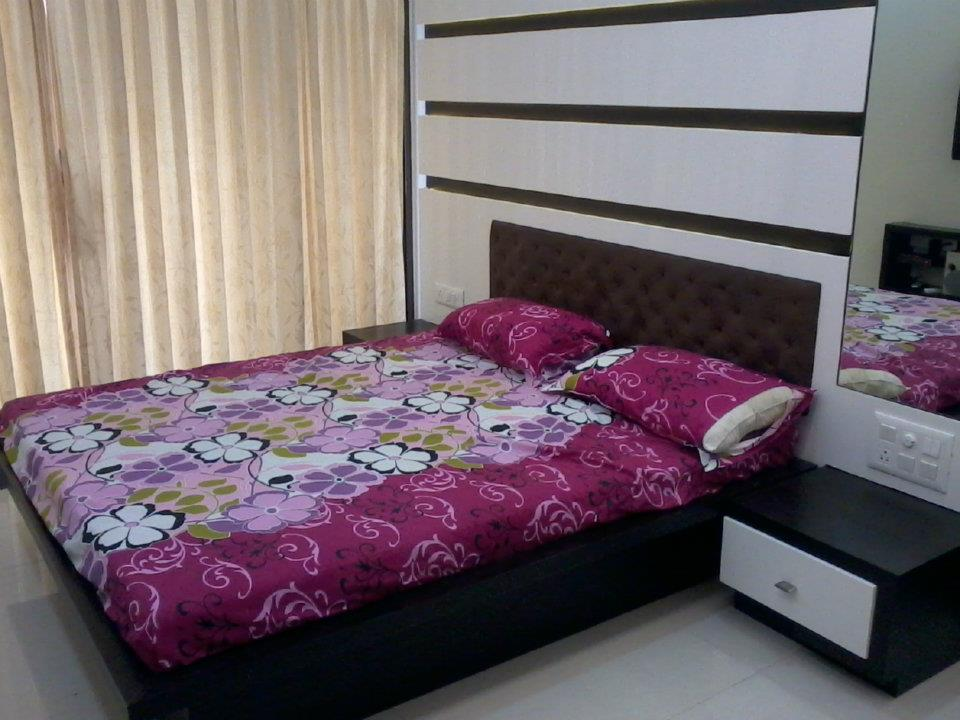 Contemporary Guest Bedroom by Nilesh V. Gosavi Bedroom Contemporary | Interior Design Photos & Ideas
