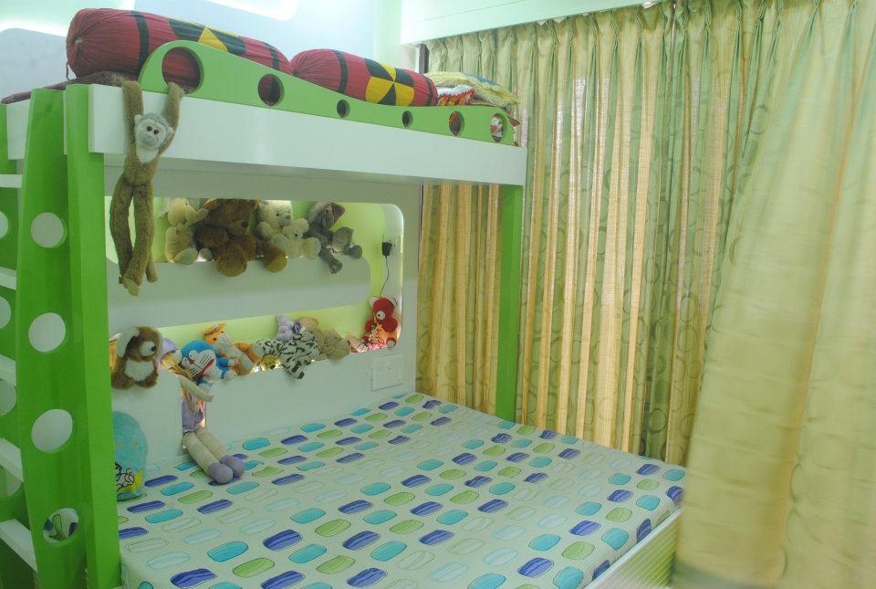 Pop Kids Bedroom by Nilesh V. Gosavi Bedroom Modern | Interior Design Photos & Ideas