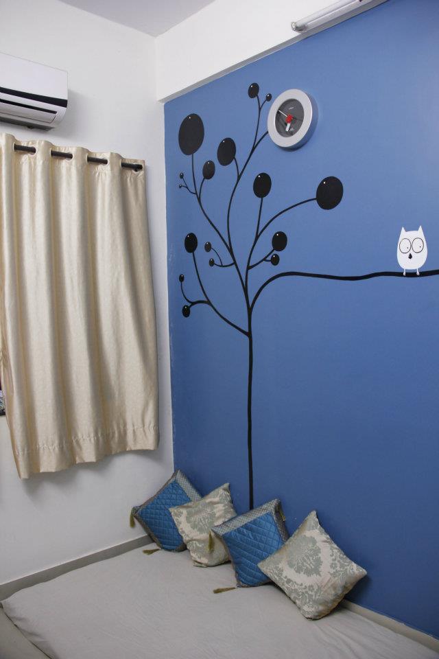 Artistic Living Room Space by Nilesh V. Gosavi Living-room Contemporary | Interior Design Photos & Ideas