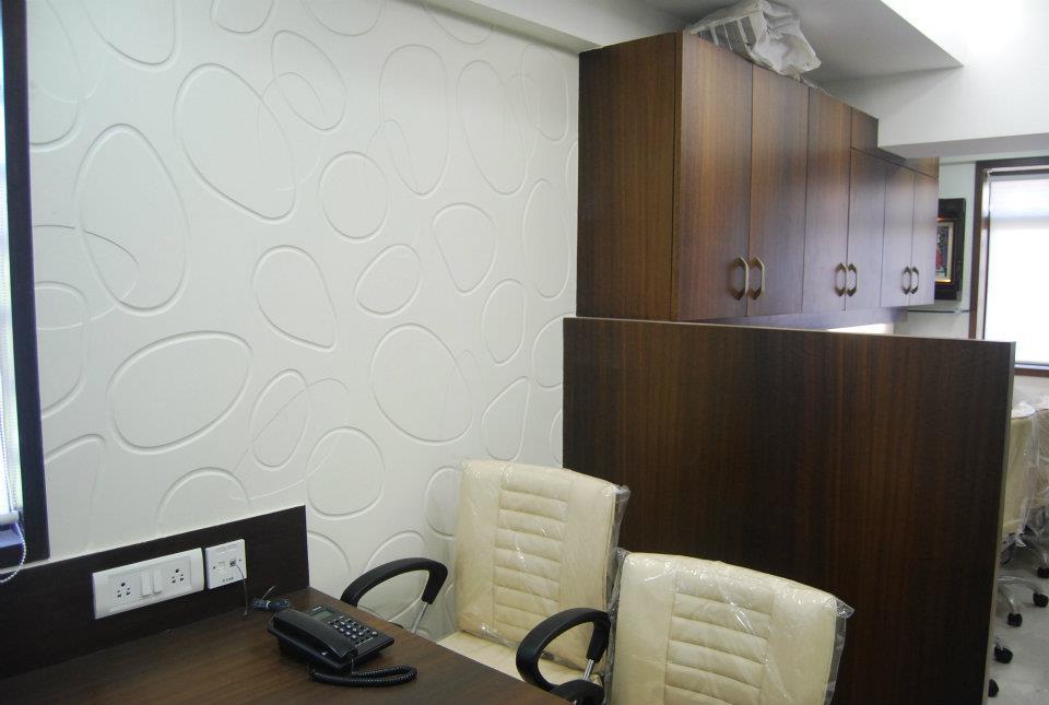 Wooden Finished Office Cabin by Nilesh V. Gosavi Modern | Interior Design Photos & Ideas