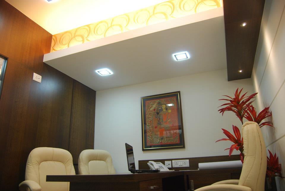 Traditional Office Space by Nilesh V. Gosavi Traditional | Interior Design Photos & Ideas