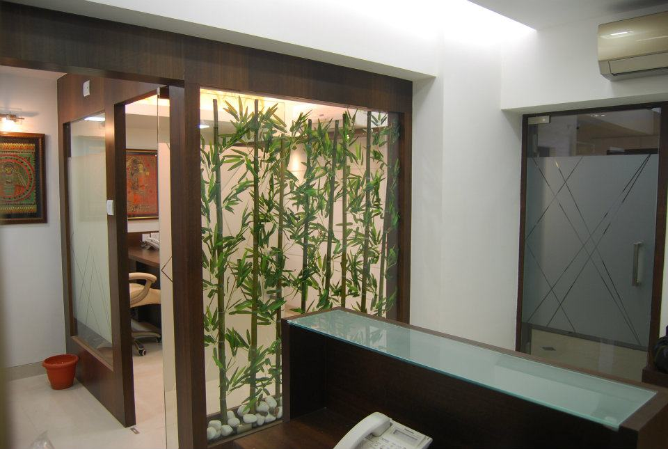 Modern Wood Finished Office Cabin by Nilesh V. Gosavi Modern | Interior Design Photos & Ideas