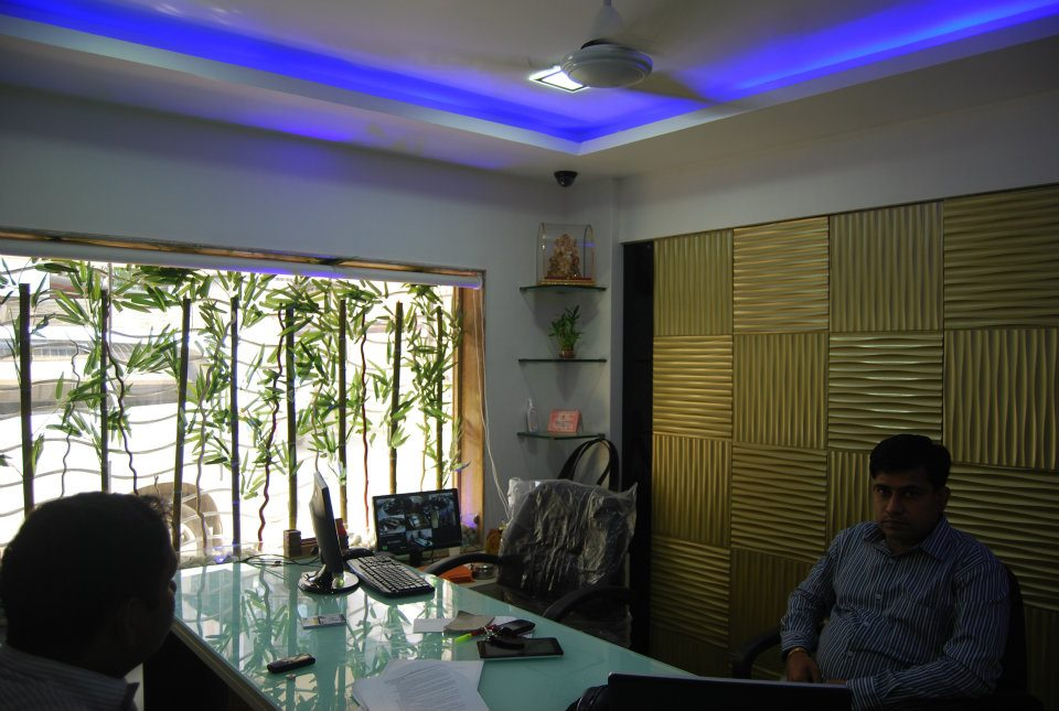 Fancy Cellular Office Space by Nilesh V. Gosavi Contemporary | Interior Design Photos & Ideas