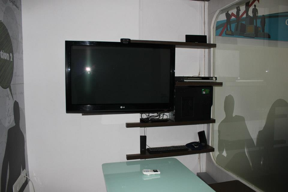 Modern Entertainment Unit by Nilesh V. Gosavi Living-room Modern | Interior Design Photos & Ideas