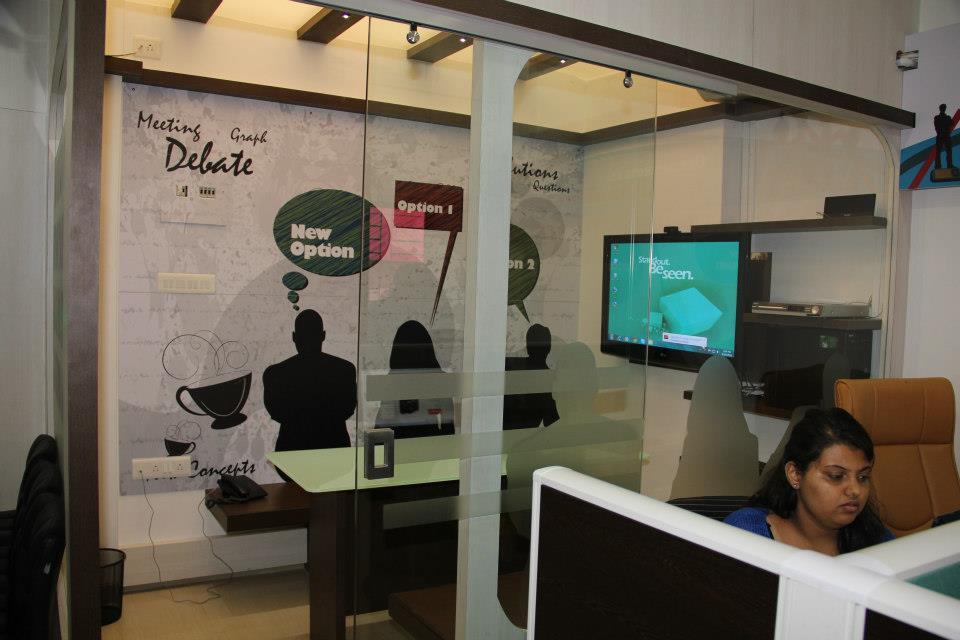 Modern Open Office Space by Nilesh V. Gosavi Modern | Interior Design Photos & Ideas