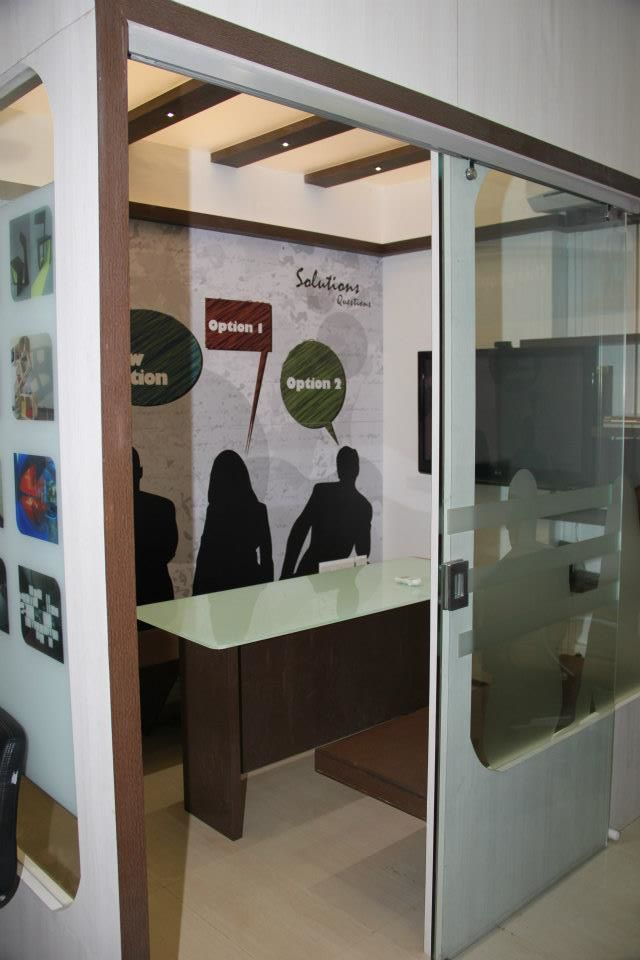 Modern Cellular Office Cabin by Nilesh V. Gosavi Modern | Interior Design Photos & Ideas