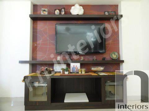 Minimalist Entertainment Unit by Nilesh V. Gosavi Living-room Minimalistic | Interior Design Photos & Ideas