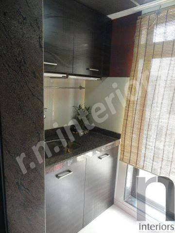 Modern bathroom Basin Area by Nilesh V. Gosavi Bathroom Modern | Interior Design Photos & Ideas