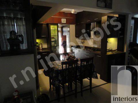 Contemporary Dining Area by Nilesh V. Gosavi Dining-room Contemporary | Interior Design Photos & Ideas
