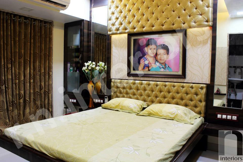 Contemporary Classy Master Bedroom by Nilesh V. Gosavi Bedroom Contemporary | Interior Design Photos & Ideas