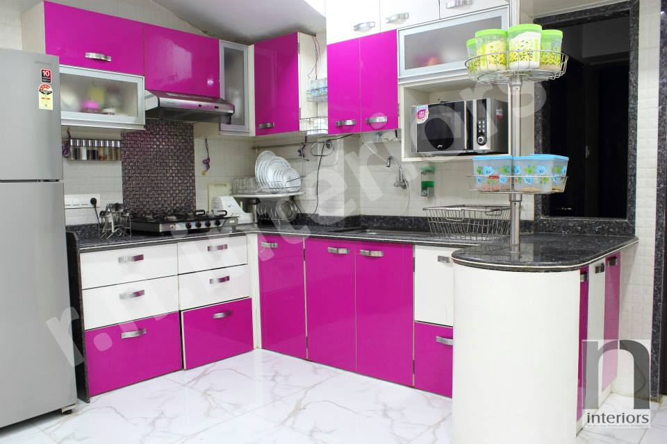 traditional modular KItchen by Nilesh V. Gosavi Modular-kitchen Traditional | Interior Design Photos & Ideas