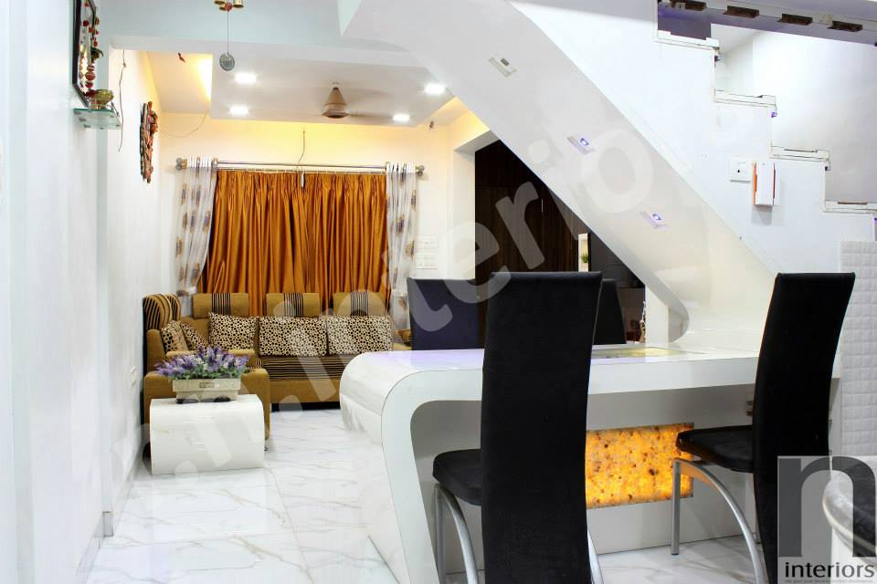 Classy Modern Living Room Area by Nilesh V. Gosavi Living-room Modern | Interior Design Photos & Ideas